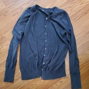 Old Navy Charcoal Gray Cardigan